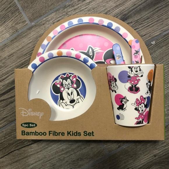 Disney kids dining set- pink Minnie